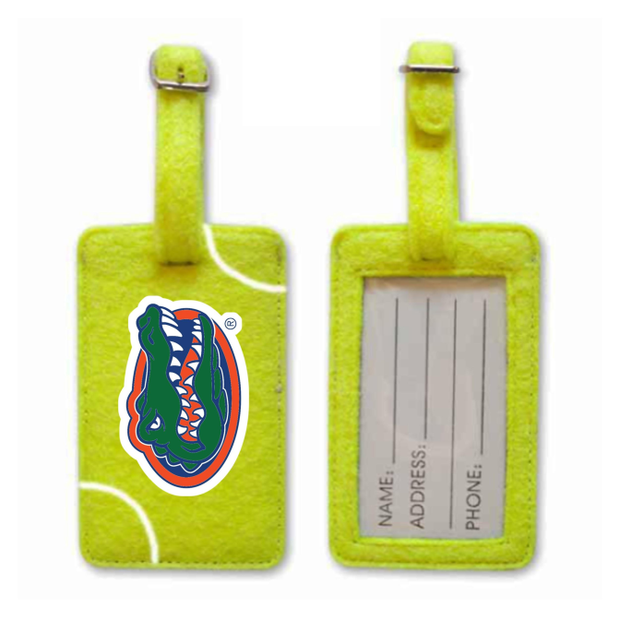 Florida Gators Tennis Luggage Tag