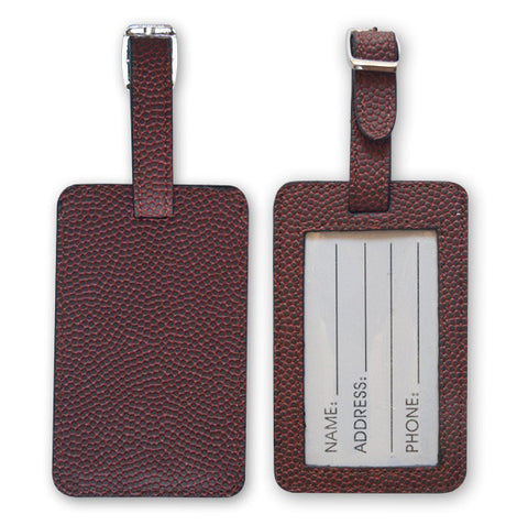 Football Luggage Tag From Zumer Sport