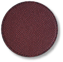 coaster made from football material