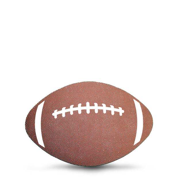 computer mouse pad that looks like a football