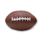 football throw pillow made from ball leather