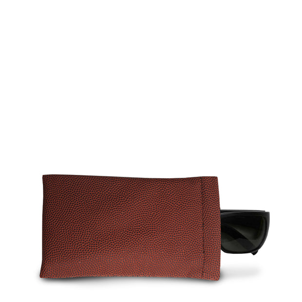 football leather material sunglasses case
