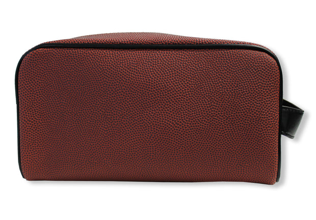 football leather material toiletry bag