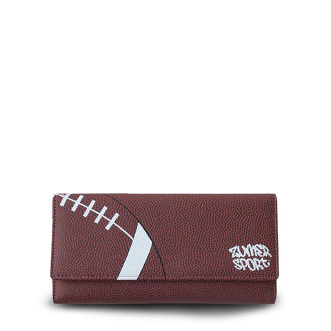 women's wallet with football on it