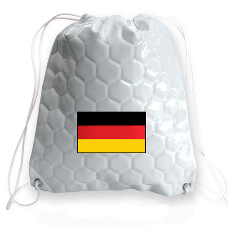 Germany National Pride Soccer Drawstring Bag