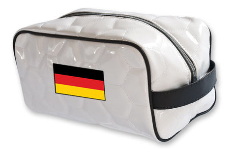 Germany National Pride Soccer Toiletry Bag