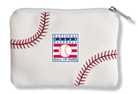 Hall of Fame Baseball Coin Purse