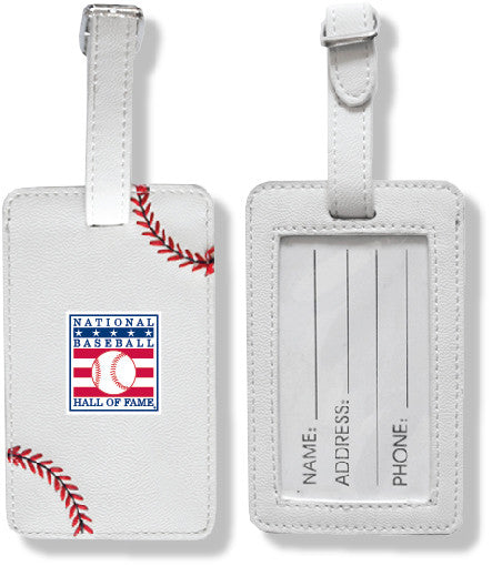 Hall of Fame Baseball Luggage Tag