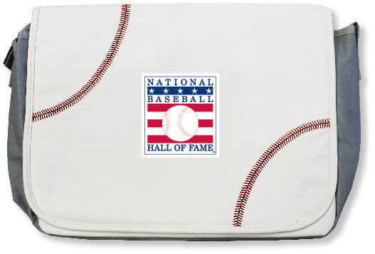 Hall of Fame Baseball Messenger Bag