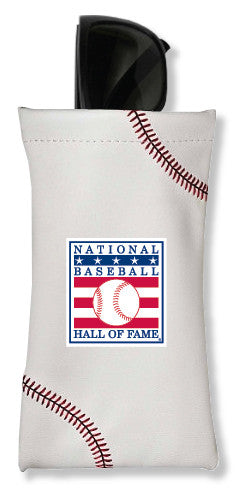 Hall of Fame Baseball Sunglass Pouch