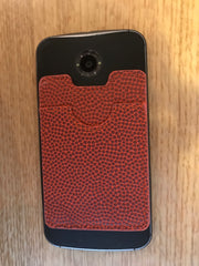 Basketball Stick-On Cellphone Wallet