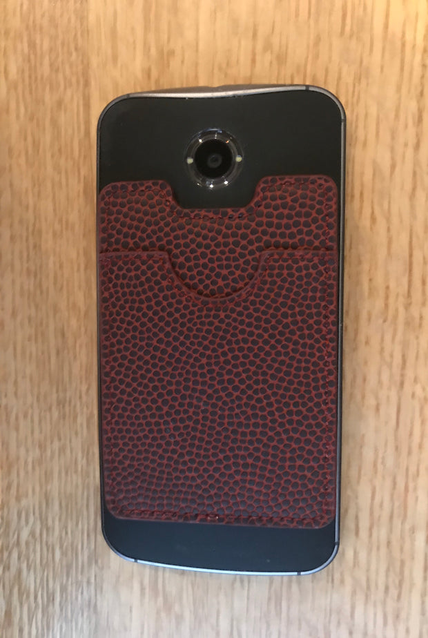 Football Stick-On Cellphone Wallet