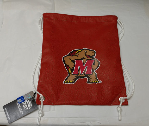 Maryland Terrapins Basketball Drawstring Bag