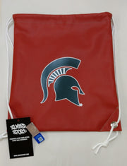 Michigan State Spartans Basketball Drawstring Bag