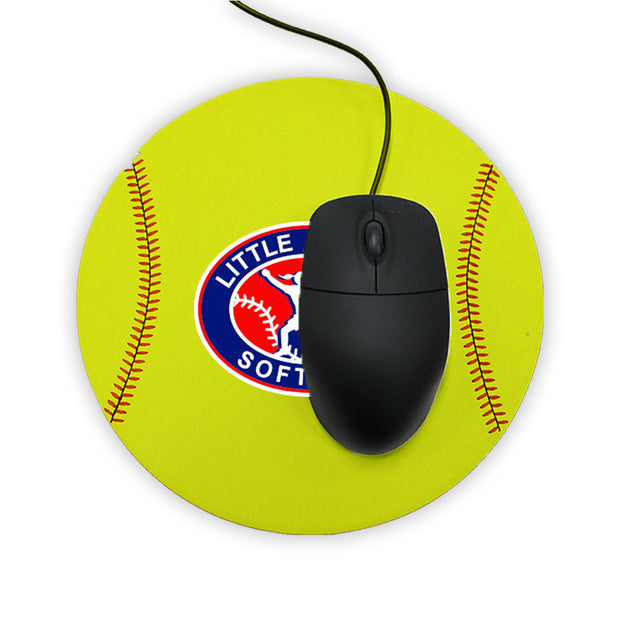 Little League Softball Mouse Pad