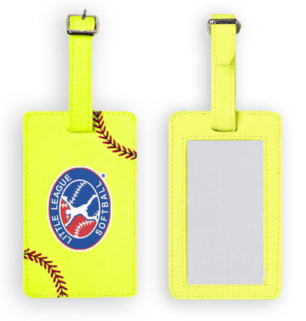 Little League Softball Luggage Tag