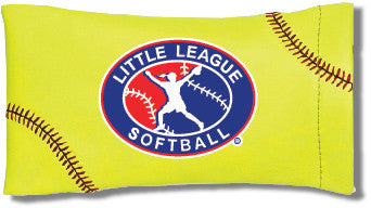 Little League Softball Sunglass Pouch