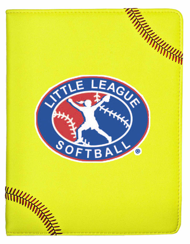 Little League Softball iPad Cover