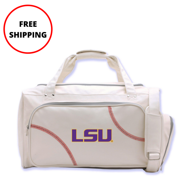 LSU Tigers Baseball Duffel Bag