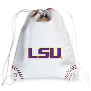 LSU Tigers Baseball Drawstring Bag