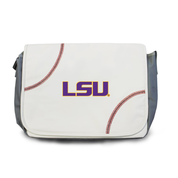 LSU Tigers Baseball Messenger Bag