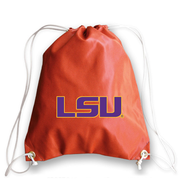 LSU Tigers Basketball Drawstring Bag