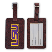 LSU Tigers Football Luggage Tag