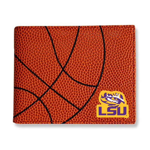 LSU Tigers Basketball Men's Wallet