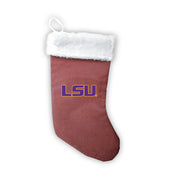 "LSU Tigers 18"" Football Christmas Stocking"