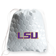 LSU Tigers Soccer Drawstring Bag