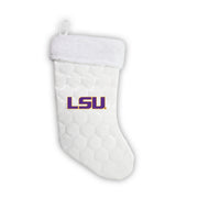 "LSU Tigers 18"" Soccer Christmas Stocking"
