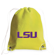 LSU Tigers Tennis Drawstring Bag