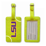 LSU Tigers Tennis Luggage Tag