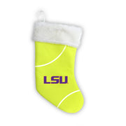 "LSU Tigers 18"" Tennis Christmas Stocking"