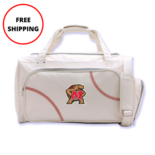 Maryland Terrapins Baseball Duffel Bag