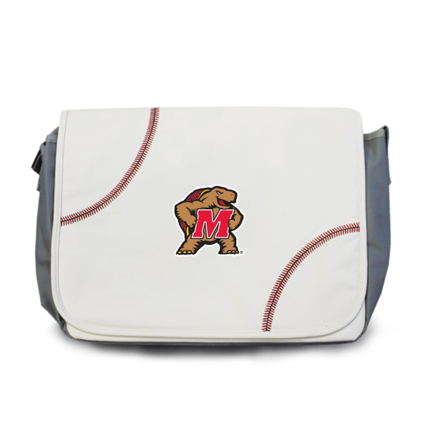 Maryland Terrapins Baseball Messenger Bag