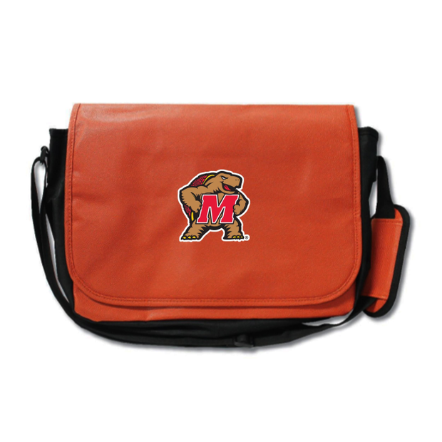 Maryland Terrapins Basketball Messenger Bag