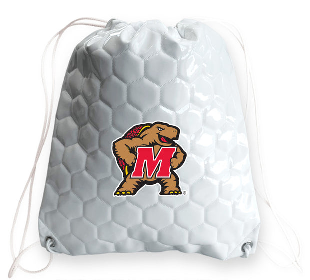 Maryland Terrapins Soccer Drawstring Bag
