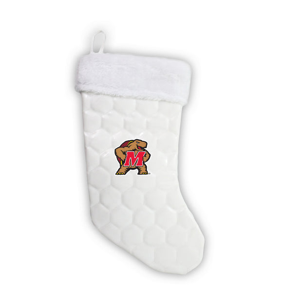 "Maryland Terrapins 18"" Soccer Christmas Stocking"