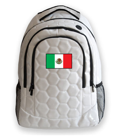 Mexico National Pride Soccer Backpack