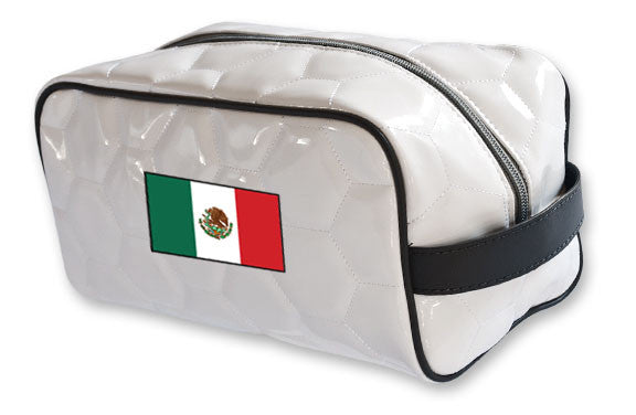 Mexico national team soccer toiletry travel bag