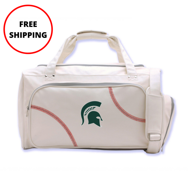 Michigan State Spartans Baseball Duffel Bag