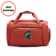 Michigan State Spartans Basketball Duffel Bag