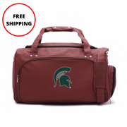 Michigan State Spartans Football Duffel Bag