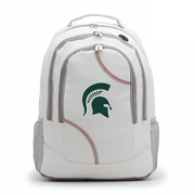 Michigan State Spartans Baseball Backpack