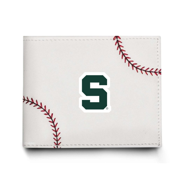 Michigan State Spartans Baseball Men's Wallet