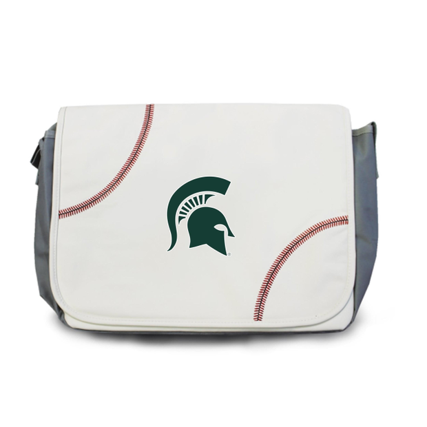 Michigan State Spartans Baseball Messenger Bag