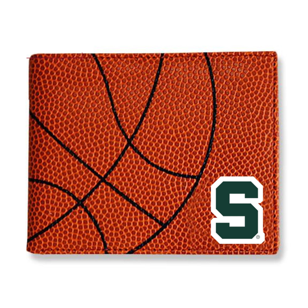 Michigan State Spartans Basketball Men's Wallet