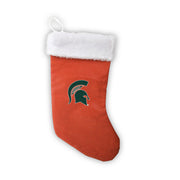 "Michigan State Spartans 18"" Basketball Christmas Stocking"