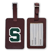 Michigan State Spartans Football Luggage Tag